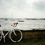 Bike at Keyhaven