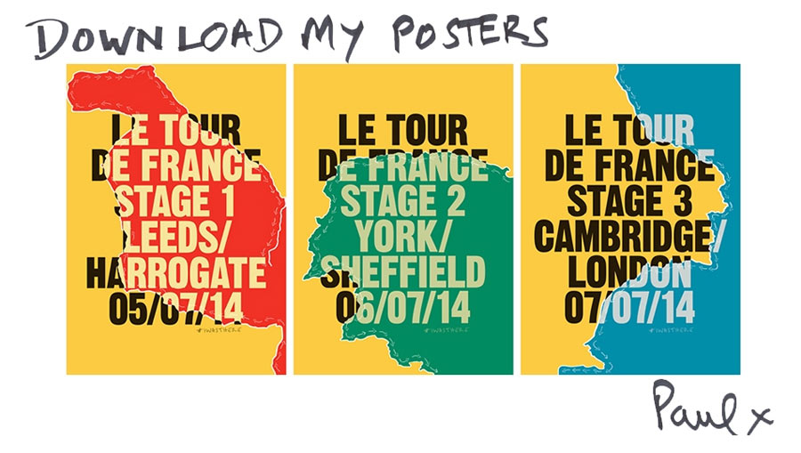 Paul Smith TDF posters